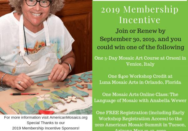 2019 Membership Incentive