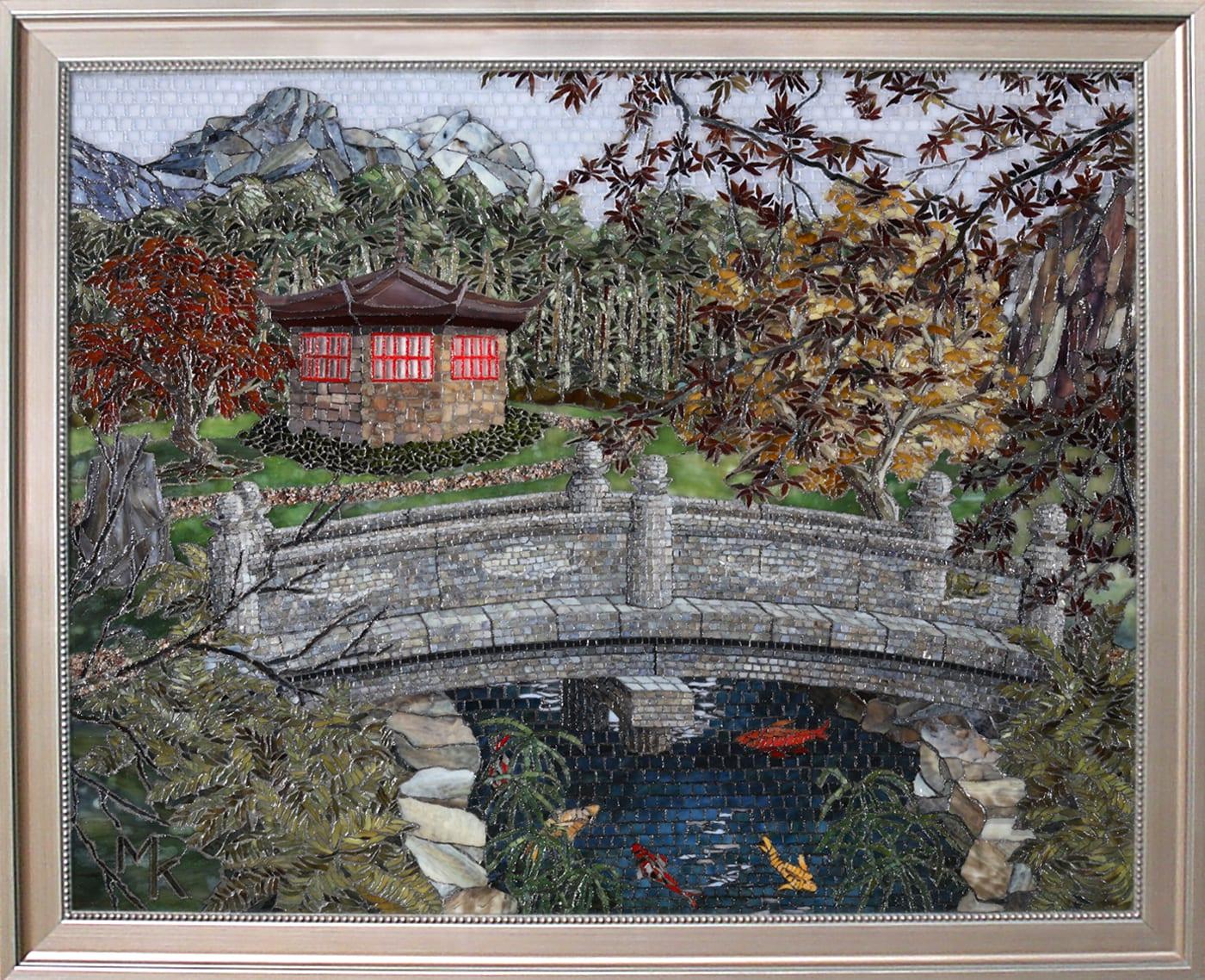 """""""Japanese Garden"""" by Mary Kramer"""