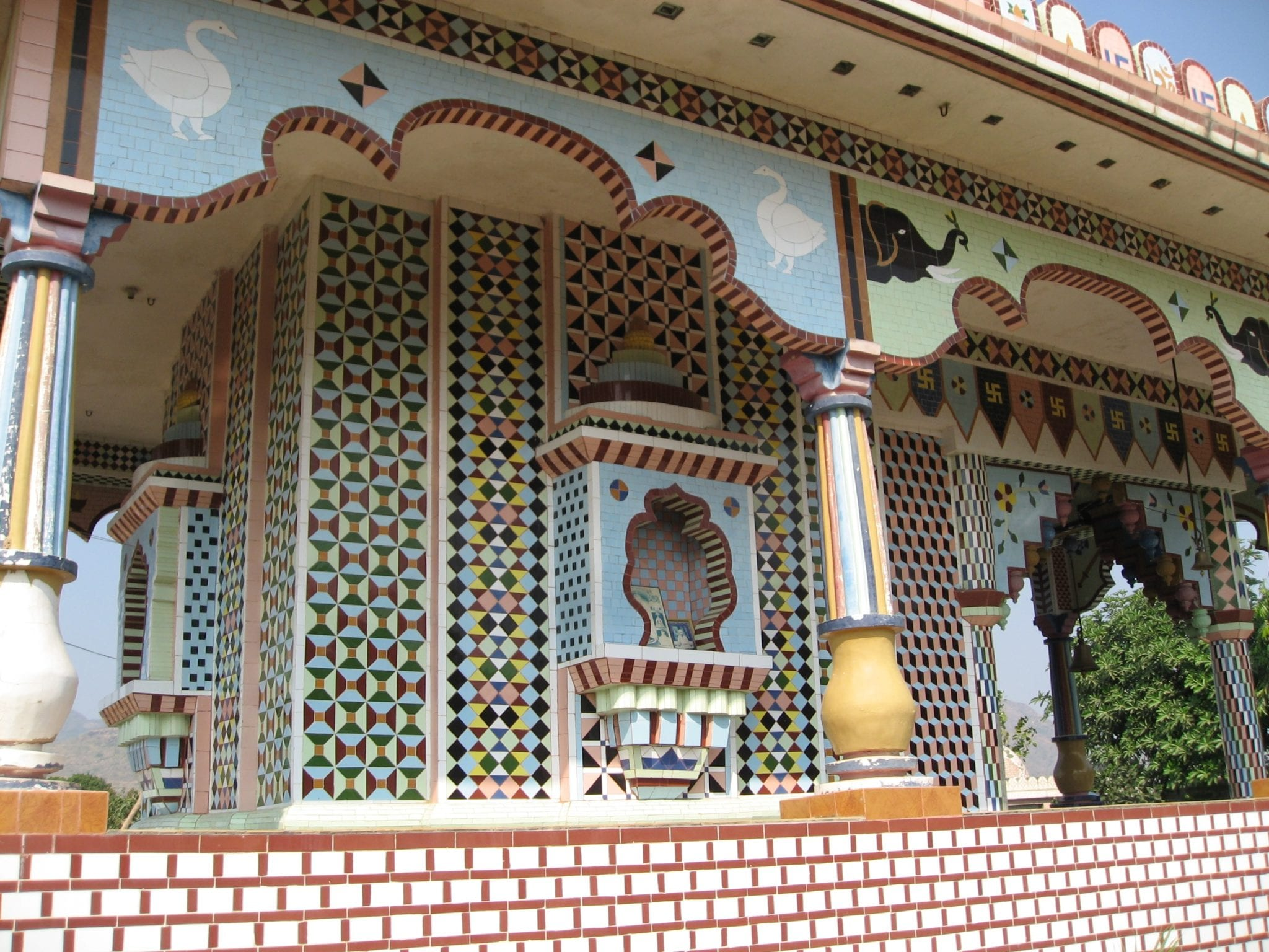 Temple Towards Gir