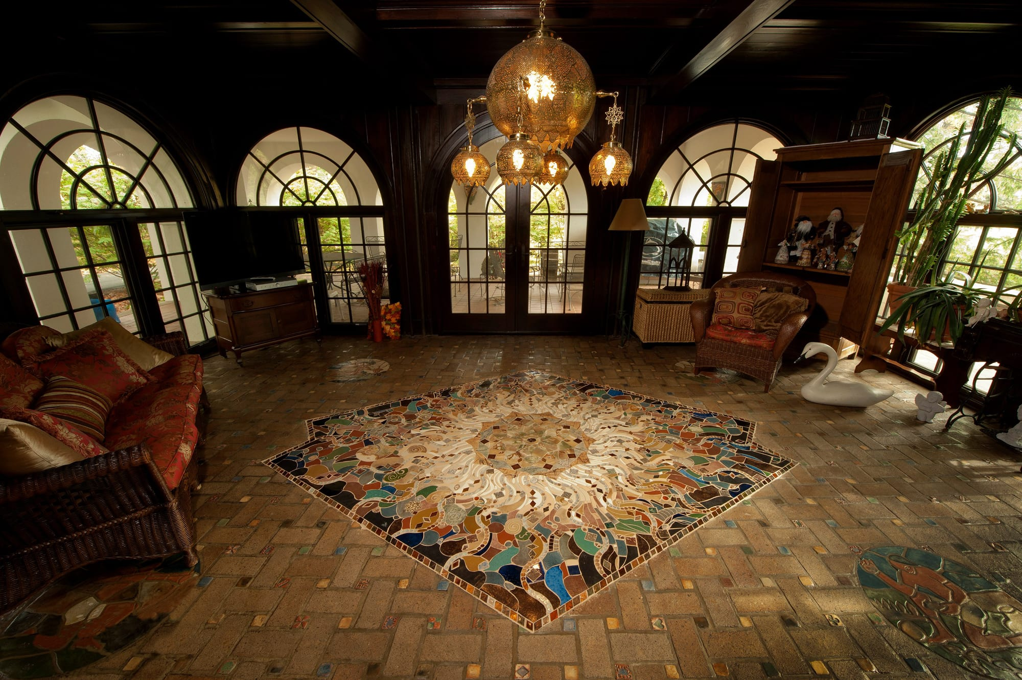 """Mosaic Floor"" by Nathan Breininger"