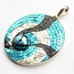 Mosaic Pendant by Margo Anton