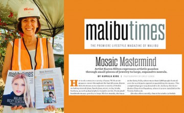 Member Karen Silton featured in Malibu Times and Topanga Messenger