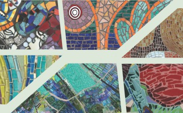 Mosaic Muse Exhibit at fpacgallery in Boston features SAMA members