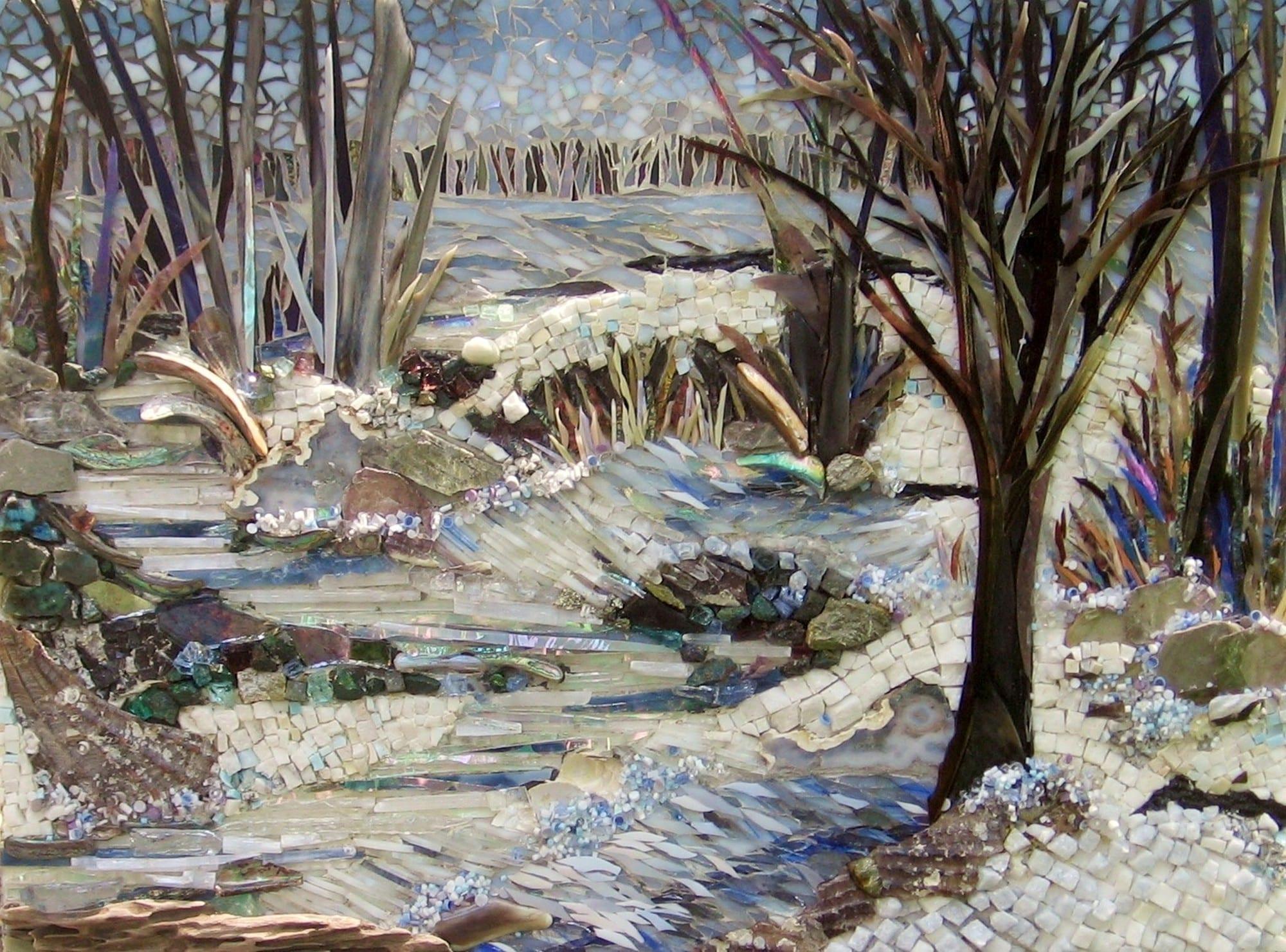 """Winter's Beauty"" by Laura Rendlen. 2012 Juror's Choice; Amy Gundrum Greene"