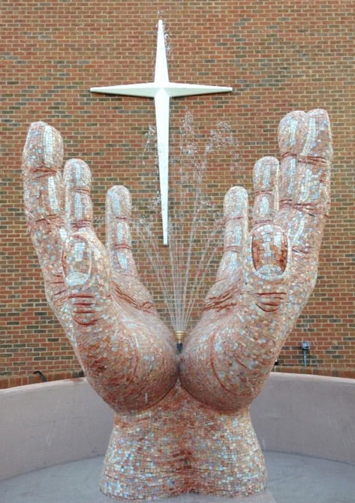 Sasine Spiritual Hands Fountain