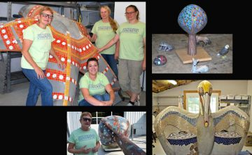 Mosaic treasures leave Bell Buckle for their new homes