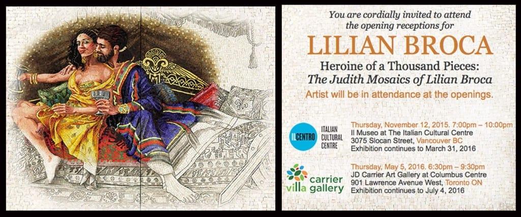 Lillian Broca Exhibition