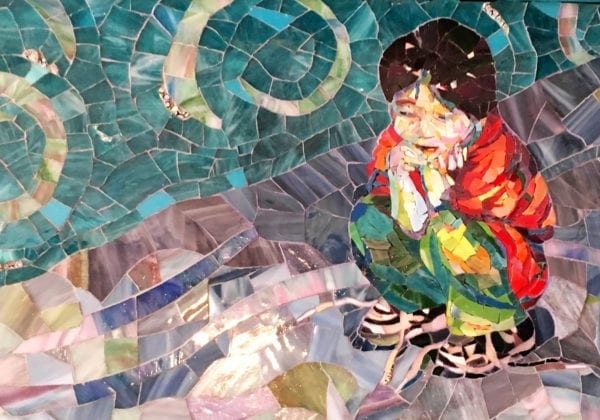 Realism in Mosaic Using Stained Glass with Carol Shelkin