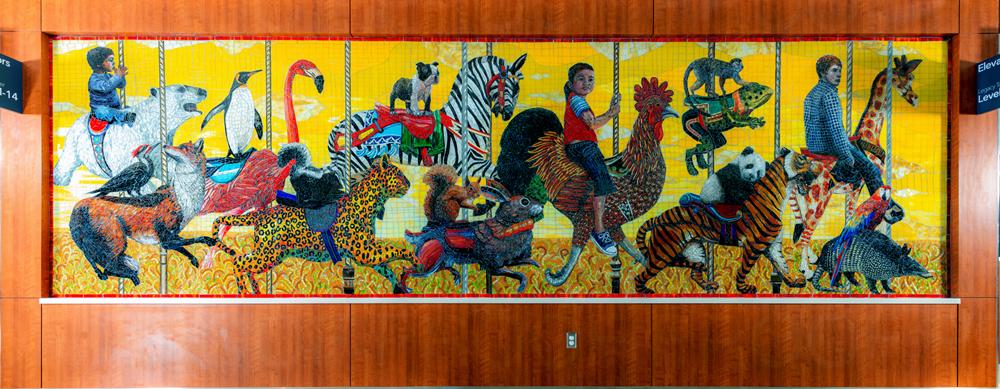 6.5ft x 22ft Texas Children\'s Hospital, Houston, TX