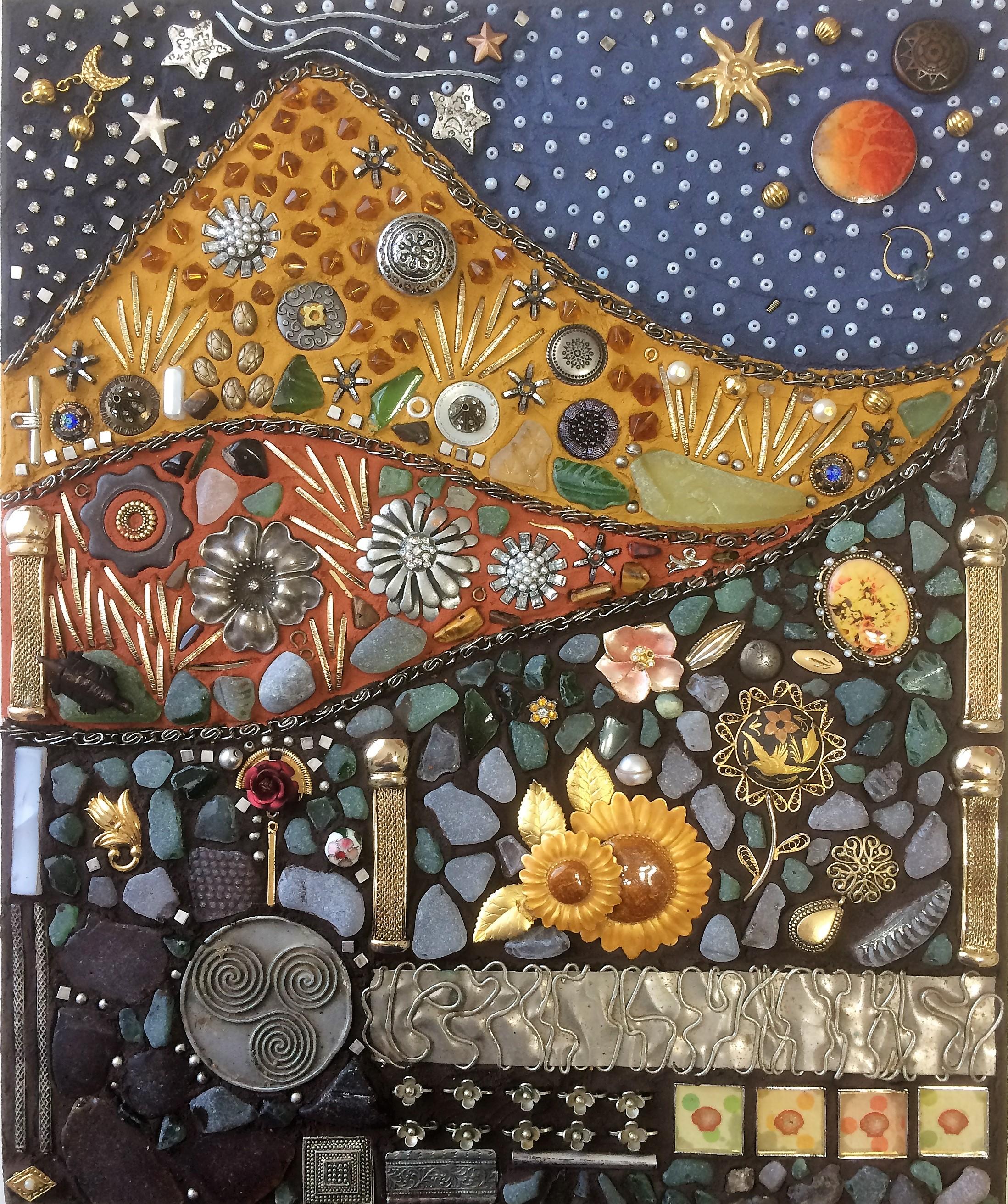 Tapestry method to create this garden Nirvana.